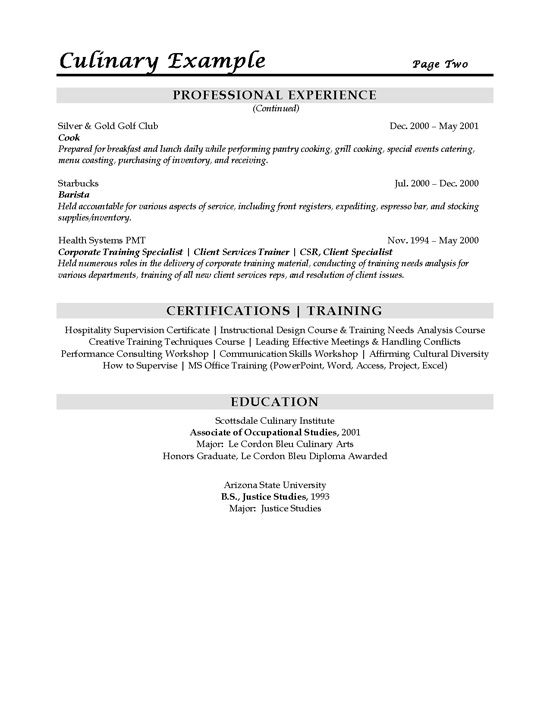 culinary sous chef resume example sample templates job examples objective building Resume Sous Chef Resume Objective