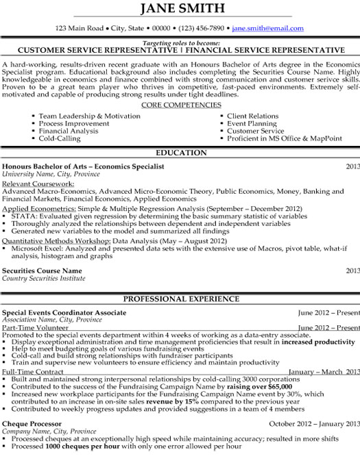 customer service representative resume sample template patient financial services student Resume Patient Financial Services Representative Resume