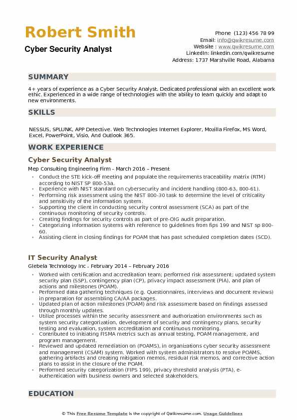 cyber security analyst resume samples qwikresume sample for pdf expertise skills commis Resume Sample Resume For Cyber Security