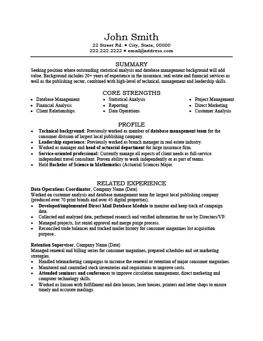 data operations coordinator resume template premium samples example estate print out form Resume Real Estate Coordinator Resume