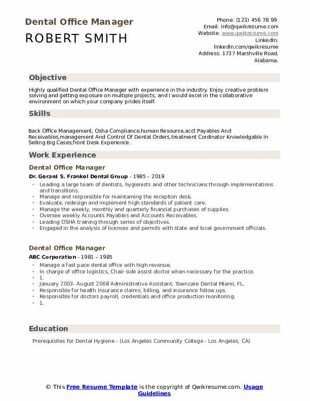 dental office manager resume samples qwikresume operations pdf non cdl driver people Resume Dental Operations Manager Resume