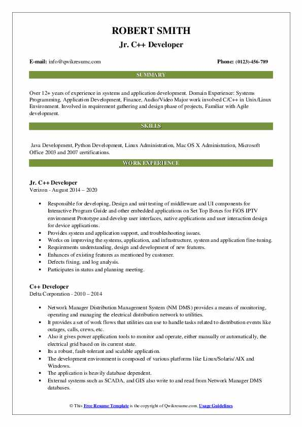 developer resume samples qwikresume projects for pdf patent attorney personal assistant Resume C++ Projects For Resume