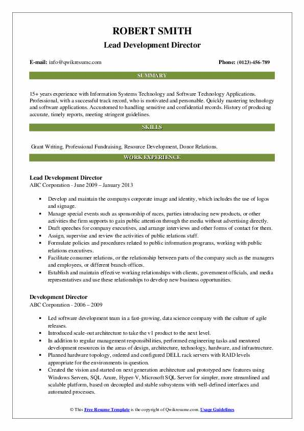 development director resume samples qwikresume fund pdf poster free mba template and Resume Fund Development Resume