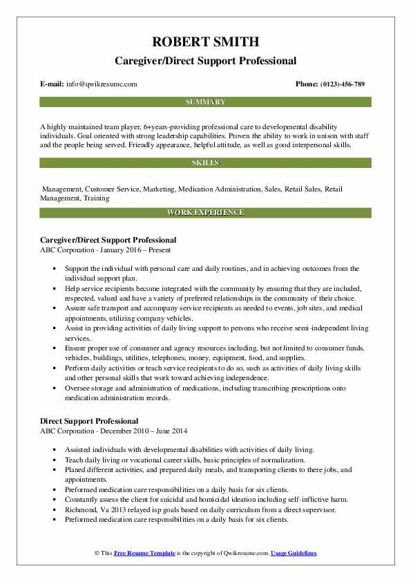 direct support professional resume samples qwikresume examples pdf interest for job Resume Direct Support Professional Resume Examples