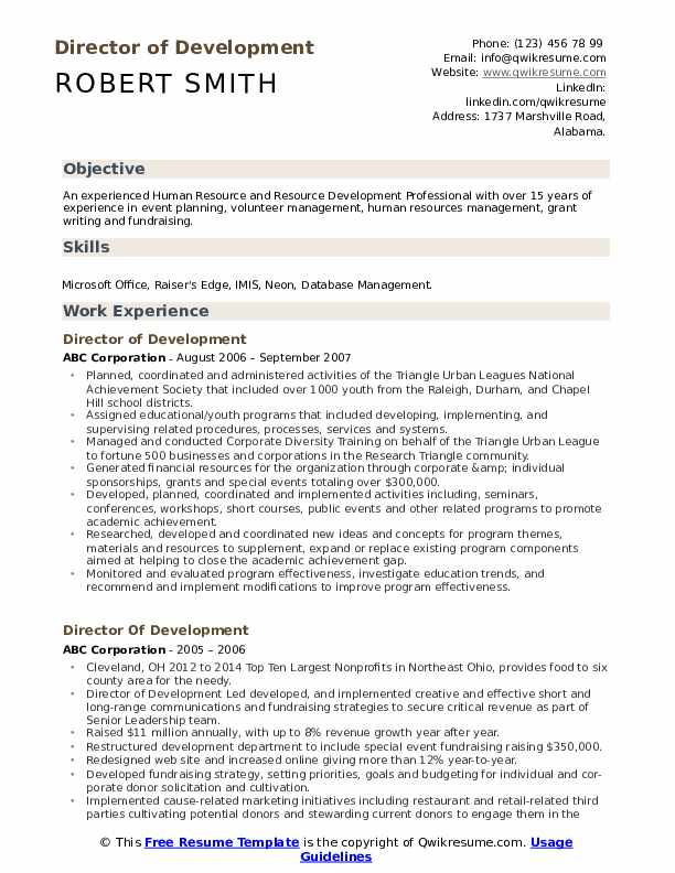 director of development resume samples qwikresume fund pdf hs lancome beauty advisor best Resume Fund Development Resume