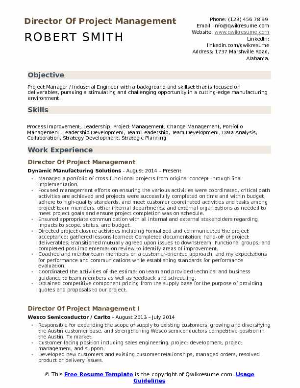 director of project management resume samples qwikresume oriented pdf data analyst sample Resume Project Oriented Resume
