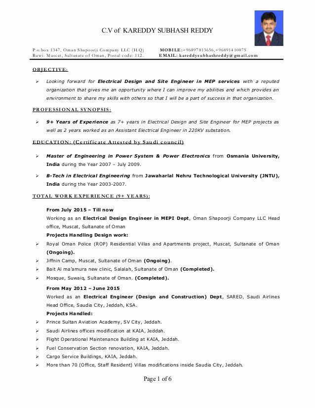 electrical engineer resume sample awesome mep years exp in engineering templates template Resume Electrical Power System Engineer Resume