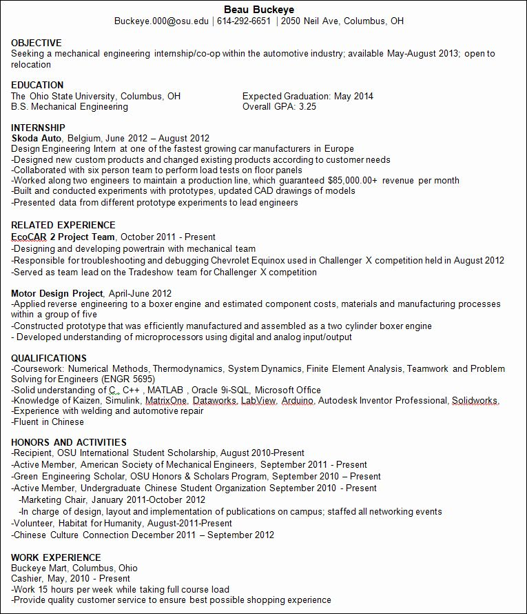 engineering resume examples for students new tips international student organizational Resume International Student Resume