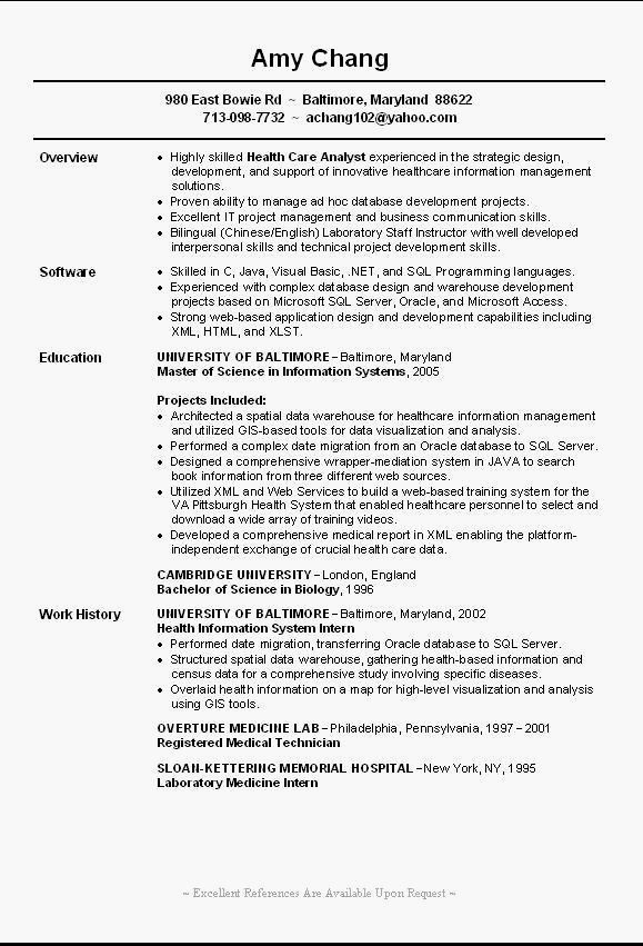 entry level resume template example it examples fresh job samples objective sap mdg Resume Entry Level Resume Template