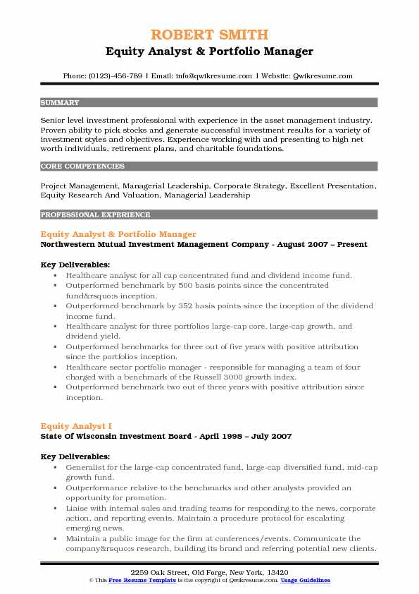 equity analyst resume samples qwikresume research template pdf counselor transcriptionist Resume Equity Research Resume Template