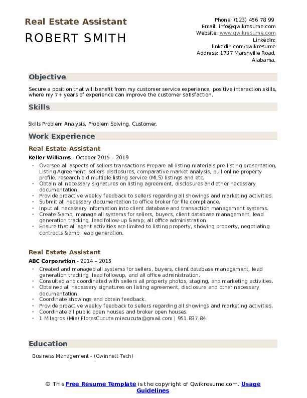 estate assistant resume samples qwikresume writing services pdf tips for making great Resume Real Estate Resume Writing Services