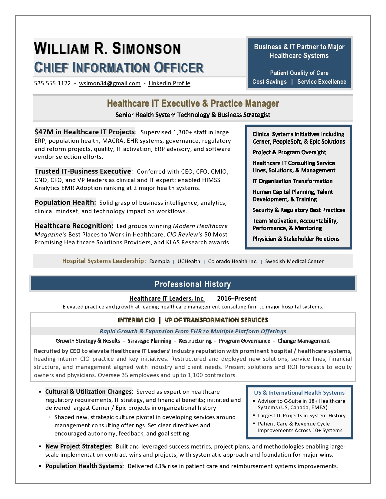 executive resume writing service nyc free services management healthcare it cio sample Resume Management Resume Writing Services