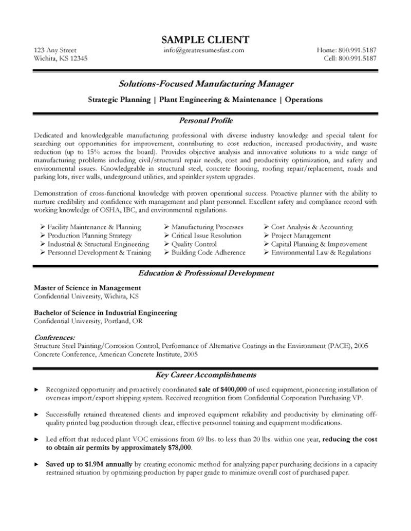 experienced manufacturing manager resume production planning and control engineer samples Resume Production Planning And Control Engineer Resume Samples