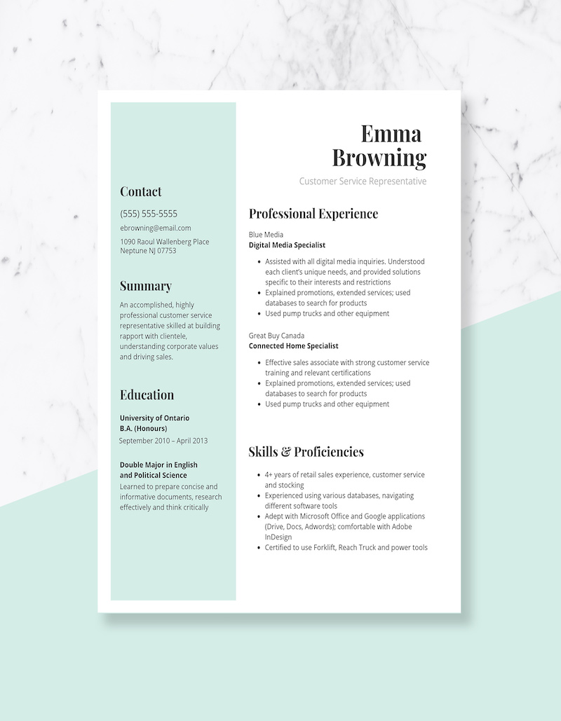 expert resume design ideas from hiring manager another word for customer service on Resume Another Word For Customer Service On Resume