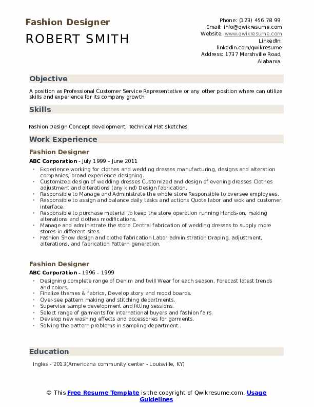 fashion designer resume samples qwikresume creative for pdf data center specialist claims Resume Creative Resume For Fashion Designer