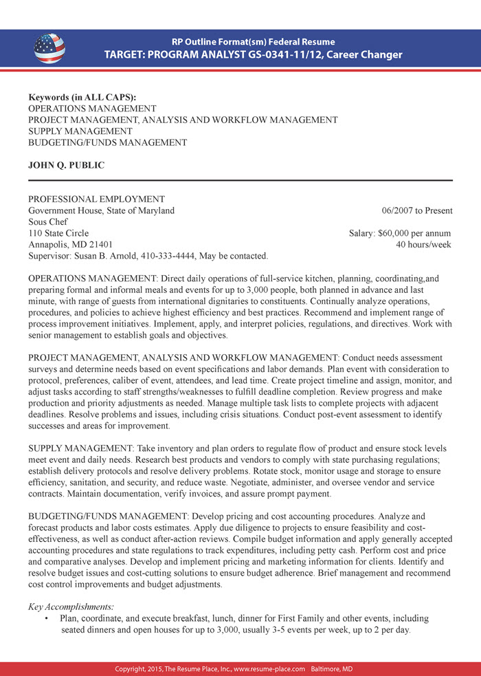 federal resume samples place accomplishment format sample meme computer technician Resume Accomplishment Resume Format