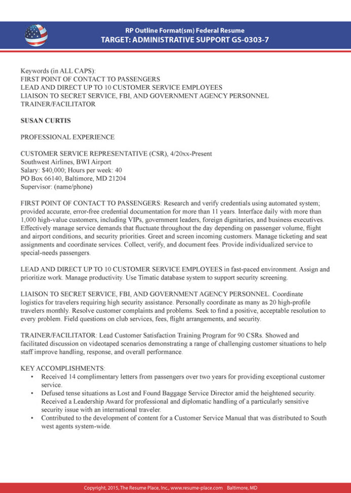 federal resume samples place preparation assistance sample certificates and licenses on Resume Resume Preparation Assistance