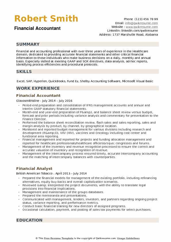 financial accountant resume samples qwikresume professional summary pdf truly free Resume Professional Summary Accountant Resume