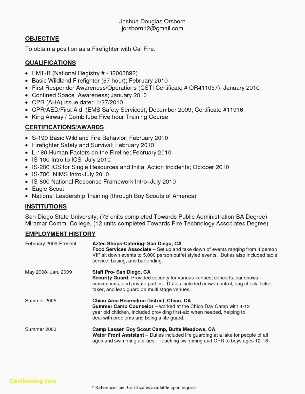 firefighter job description resume awesome wildland sample in jobs lettering gecd mit Resume Wildland Firefighter Resume