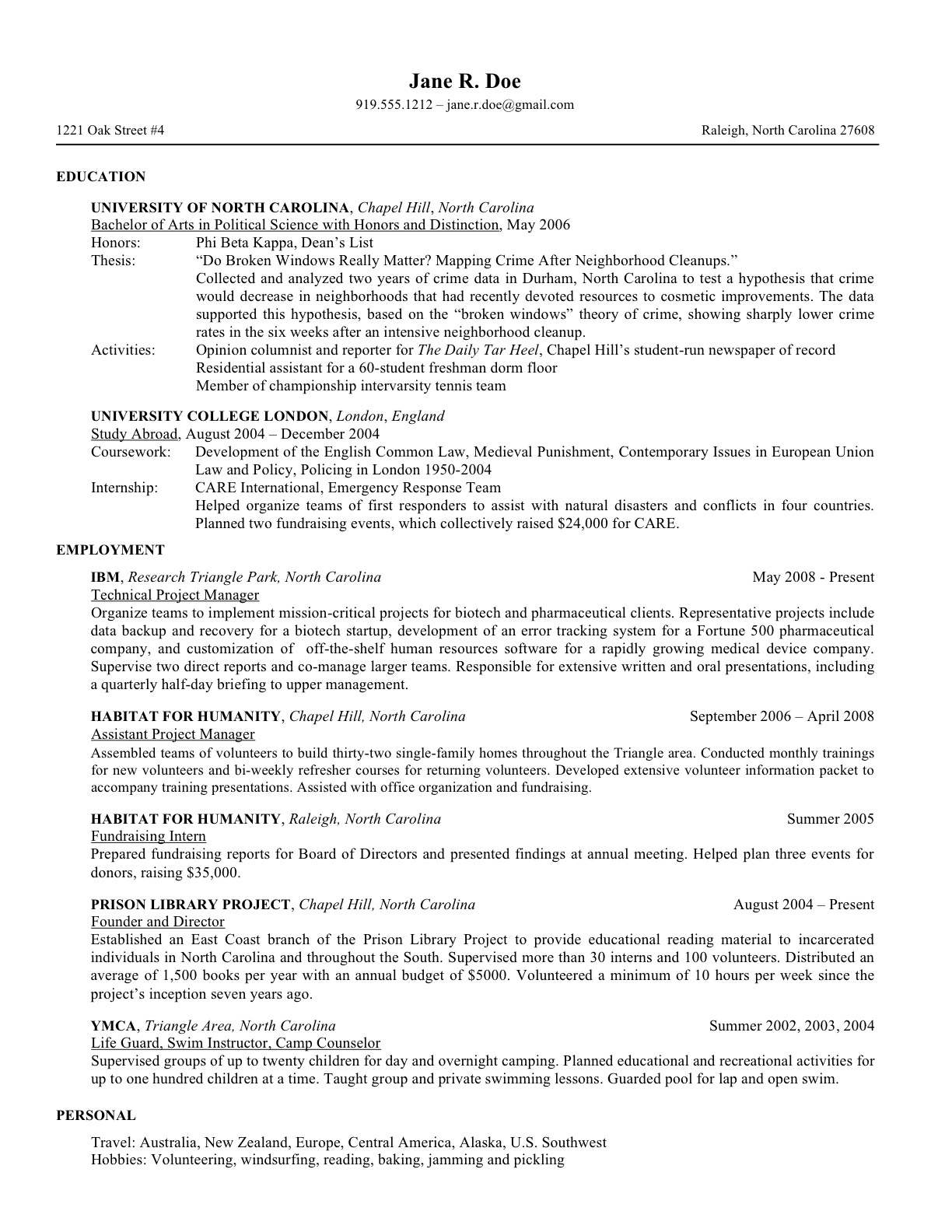 first resume after college remove outdated information examples job hotel housekeeping Resume Resume Examples After First Job