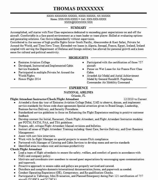 flight attendant resume example philippine airlines stewardess cypress career objective Resume Career Objective Examples For Resume Flight Attendant