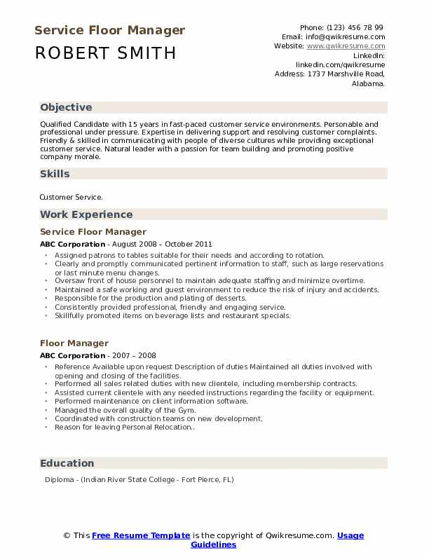 floor manager resume samples qwikresume retail pdf sample for warehouse forklift operator Resume Retail Floor Manager Resume