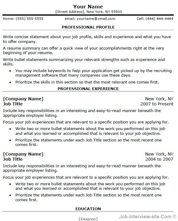 for free resume samples to copy format of communication section on funniest ever resident Resume A Copy Of A Resume Format
