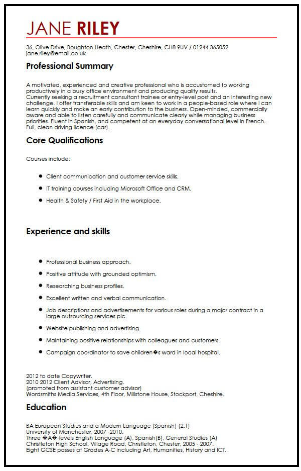 for skill on resume example format with skills sample engaging pitch about yourself Resume Resume With Skills Sample