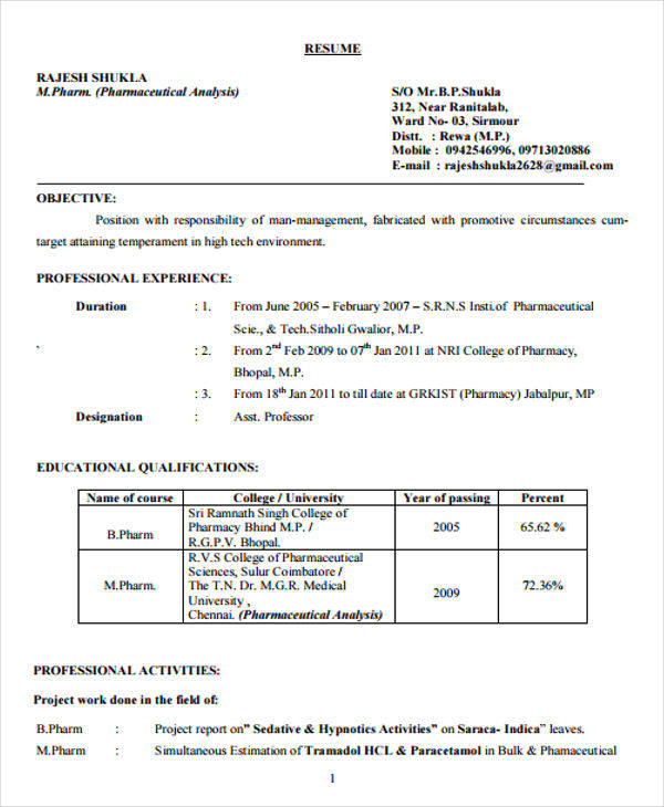 free fresher resume examples in ms word headline for pharmacy freshers pdf cliche book Resume Resume Headline For Pharmacy Freshers
