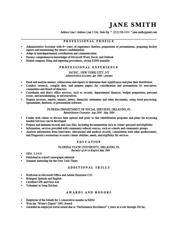 free professional resume templates in microsoft word format creativebooster spreadsheet Resume Resume Spreadsheet Format