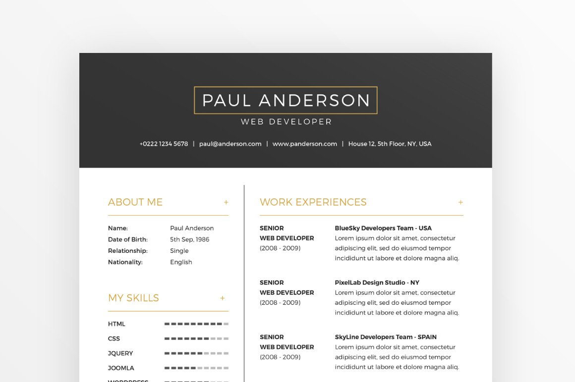 free resume cover letter template creativebooster and templates Resume Free Resume And Cover Letter Templates