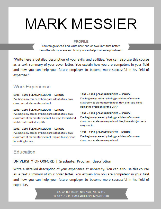 free resume template design to get cv professional hockey player chemical operator Resume Professional Hockey Player Resume