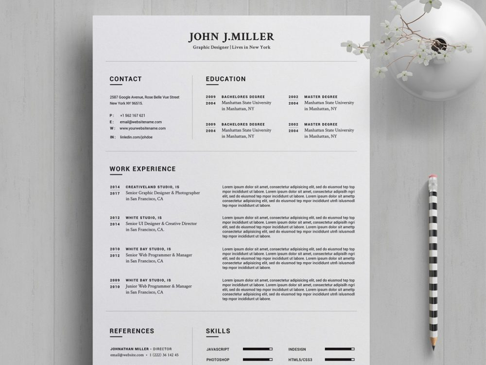 free resume template in word year resumekraft templates 1000x750 cpd format integrated Resume Resume Templates 2020 Word