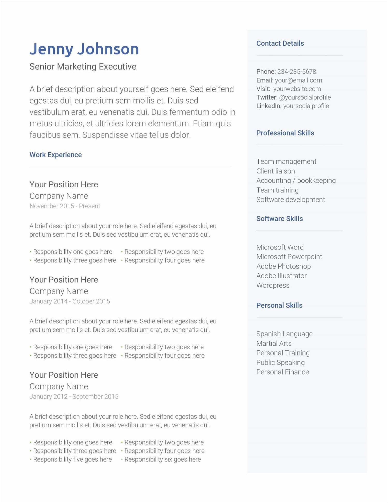 free resume templates for to now current new animator fresher softball player template Resume Free Current Resume Templates