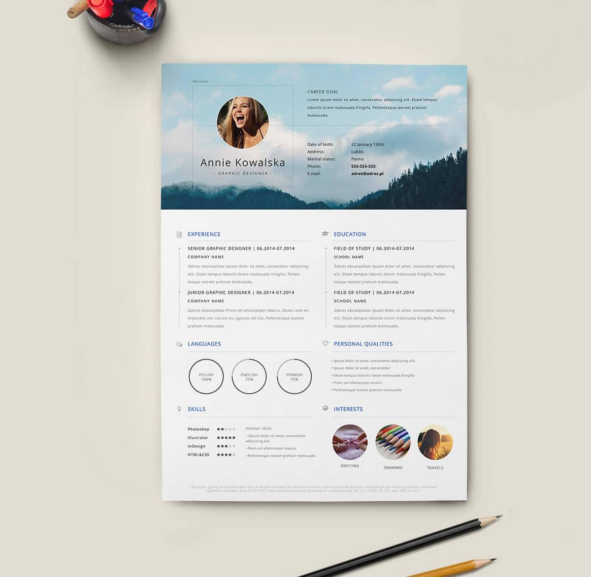 free resume templates for to now template with retail management samples simple format Resume Resume Template With Picture Free Download