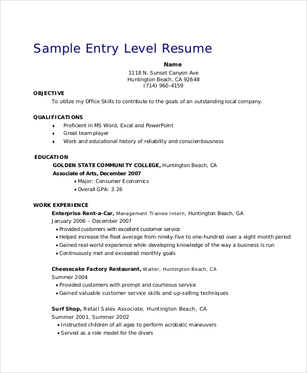 free retail resume objective templates in ms word pdf sample objectives for management Resume Sample Resume Objectives For Retail Management