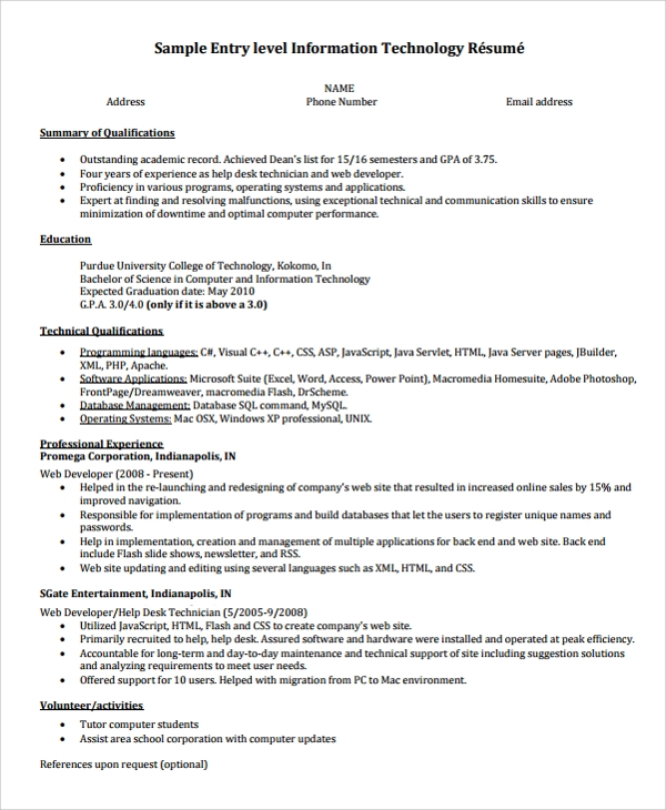 free sample college graduate resume templates in ms word pdf recent examples entry level Resume Recent Graduate Resume Examples