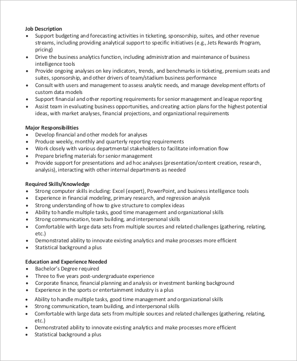 free sample financial analyst resume templates in ms word pdf planning and analysis Resume Financial Planning And Analysis Resume