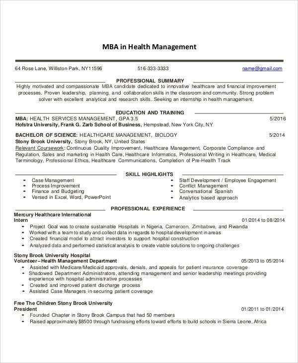 free sample healthcare resume templates in ms word pdf health informatics objectives Resume Health Informatics Resume Objectives