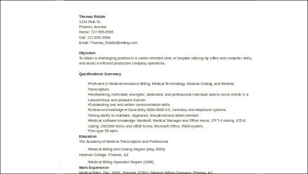 free sample medical customer service resume templates in ms word pdf objective for field Resume Resume Objective For Medical Field