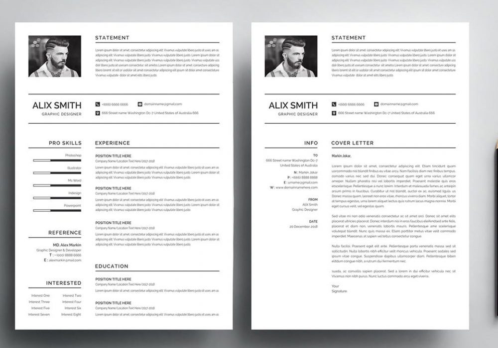 free simple resume template word maxresumes 1000x700 physician sample multiple employers Resume Resume 2020 Template Word