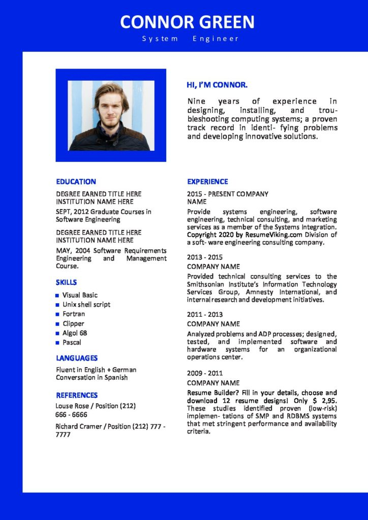 free word resume templates in ms microsoft office edit pdf 724x1024 entry level software Resume Microsoft Office 2020 Resume