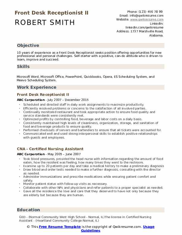 front desk receptionist resume samples qwikresume clerk duties for pdf communications Resume Front Desk Clerk Duties For Resume