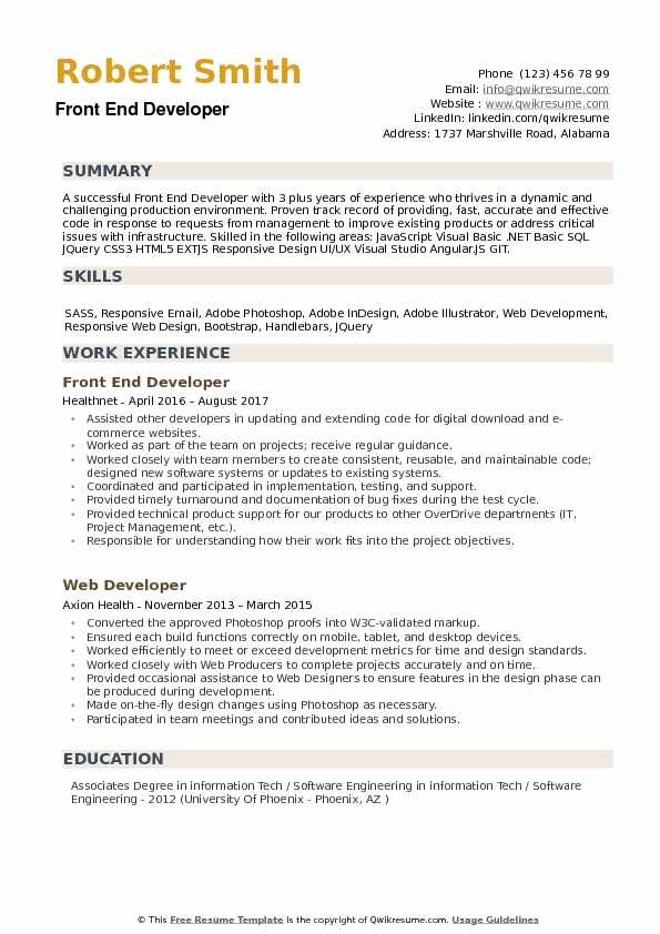 front end developer resume samples qwikresume technical skills for pdf general contractor Resume Technical Skills For Front End Developer Resume