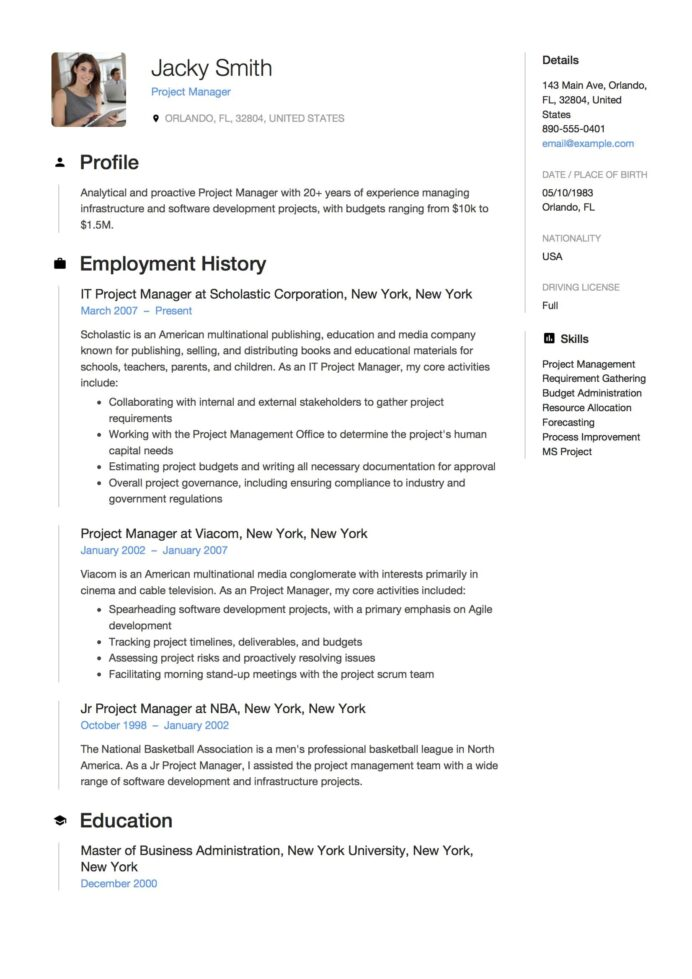 full guide project manager resume samples word pdf job examples template software Resume Software Development Manager Resume Examples 2020