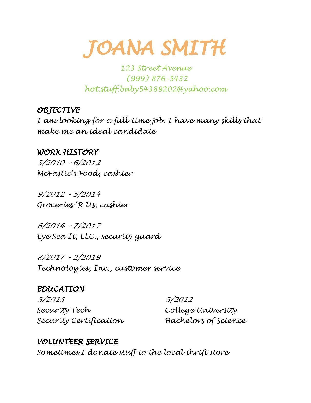 good vs resume examples the best to make employers notice of origina printable controller Resume Bad Resume Examples Printable