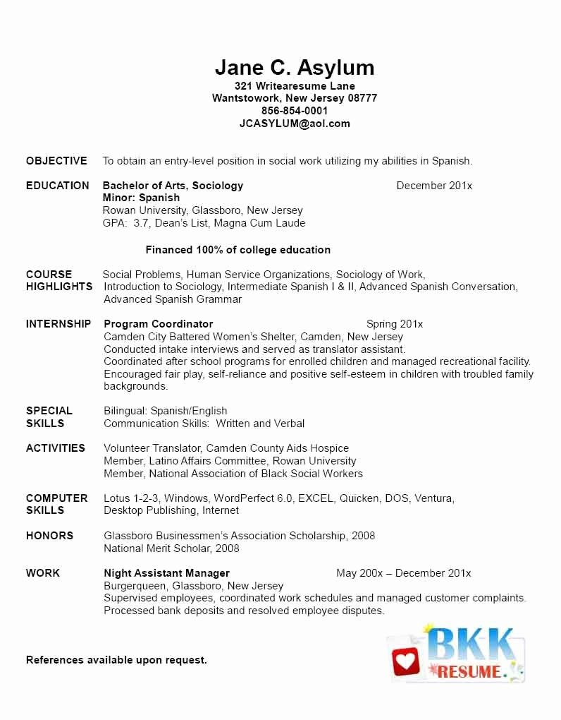 graduate school resume example best of new grad resumes for fu rn template nursing Resume Resume Objective For High School Graduate