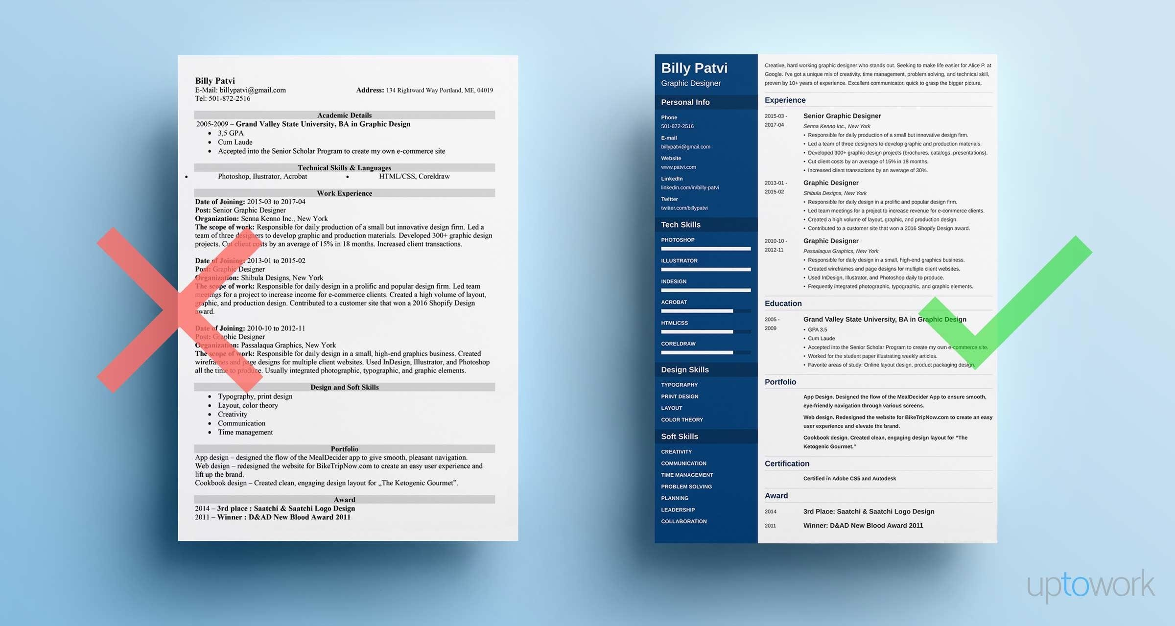 graphic designer resume examples and design tips for samples professional photography Resume Graphic Design Resume 2020