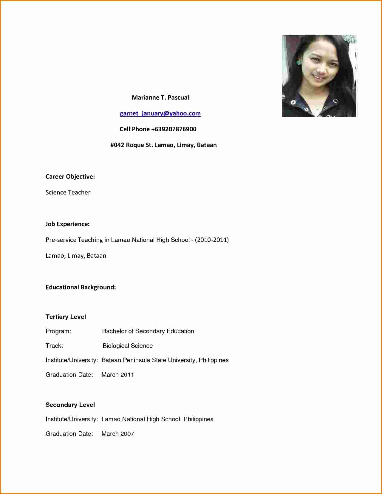 high school graduate resume ipasphoto objective for sample with good and quality modern Resume Resume Objective For High School Graduate