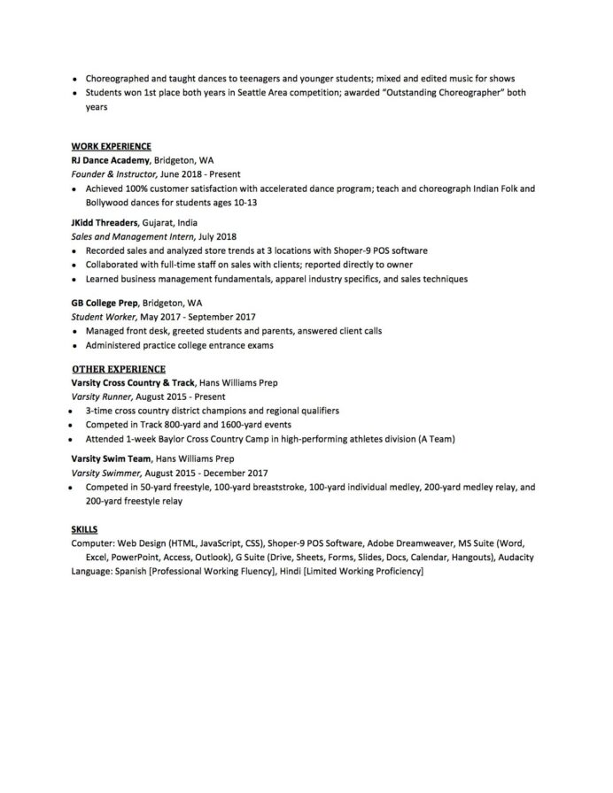 high school resume to write the best one templates included graduate for college template Resume High School Graduate Resume For College